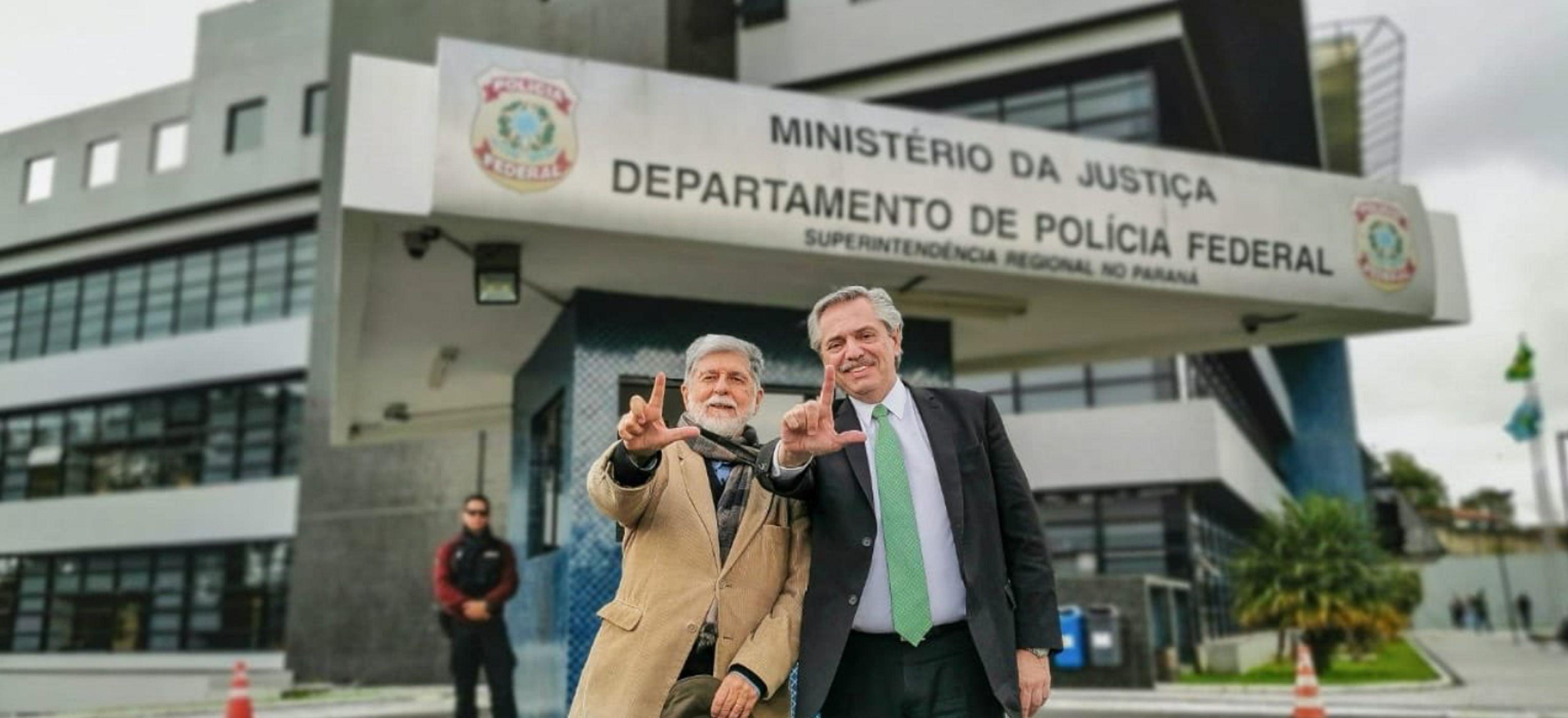 Alberto Fernández visitó a Lula en la cárcel: Es víctima de una prisión arbitraria