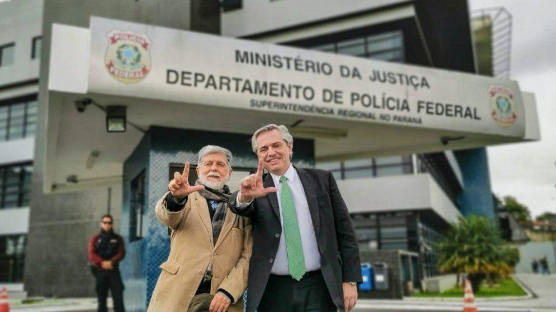 Alberto Fernández visita a Lula en la cárcel: Es víctima de una prisión arbitraria