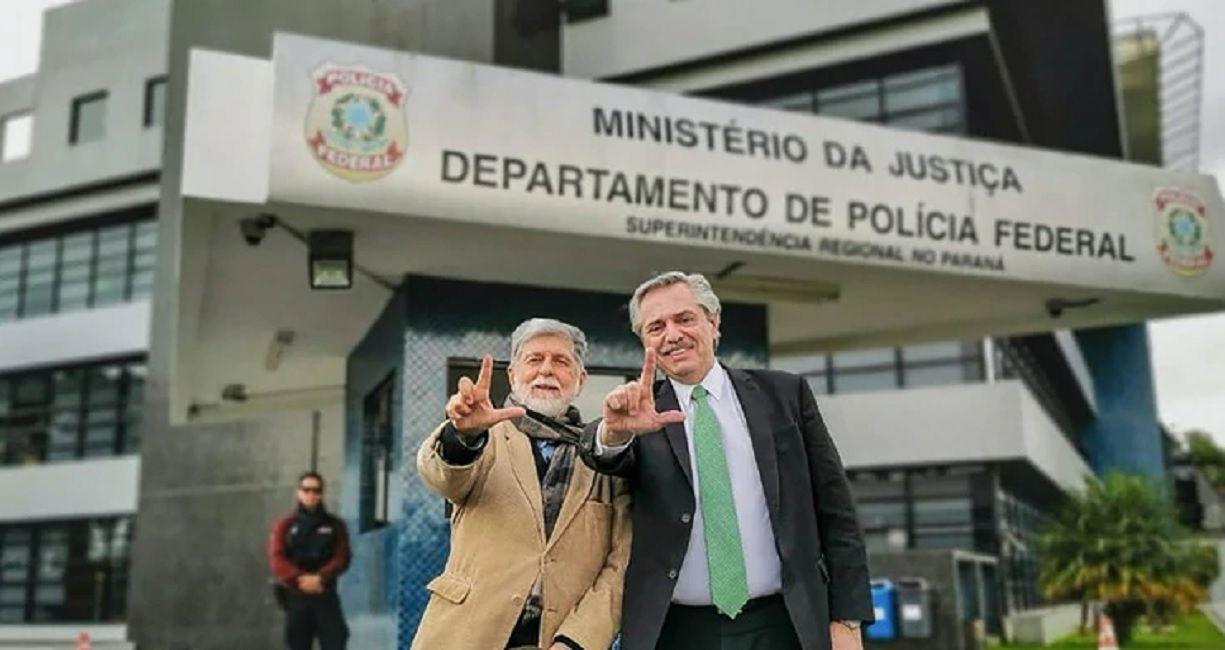 Celso Amorim y Alberto Fernández