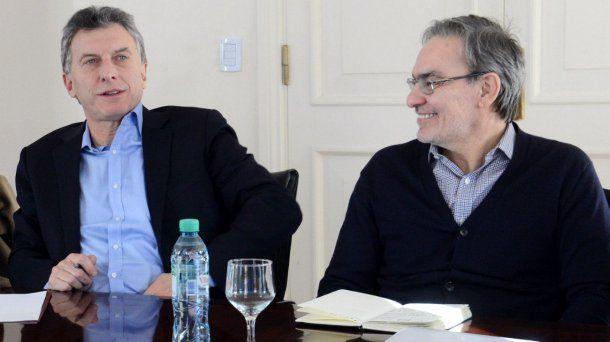 Mauricio Macri y Gustavo Lopetegui
