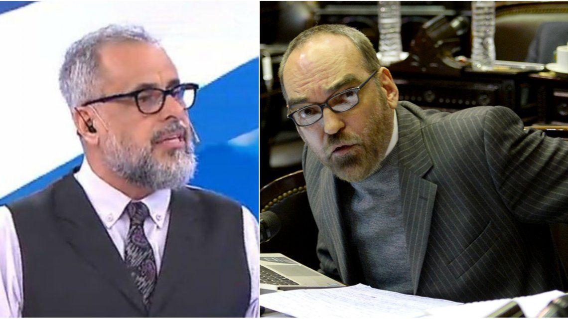 Jorge Rial y Fernando Iglesias