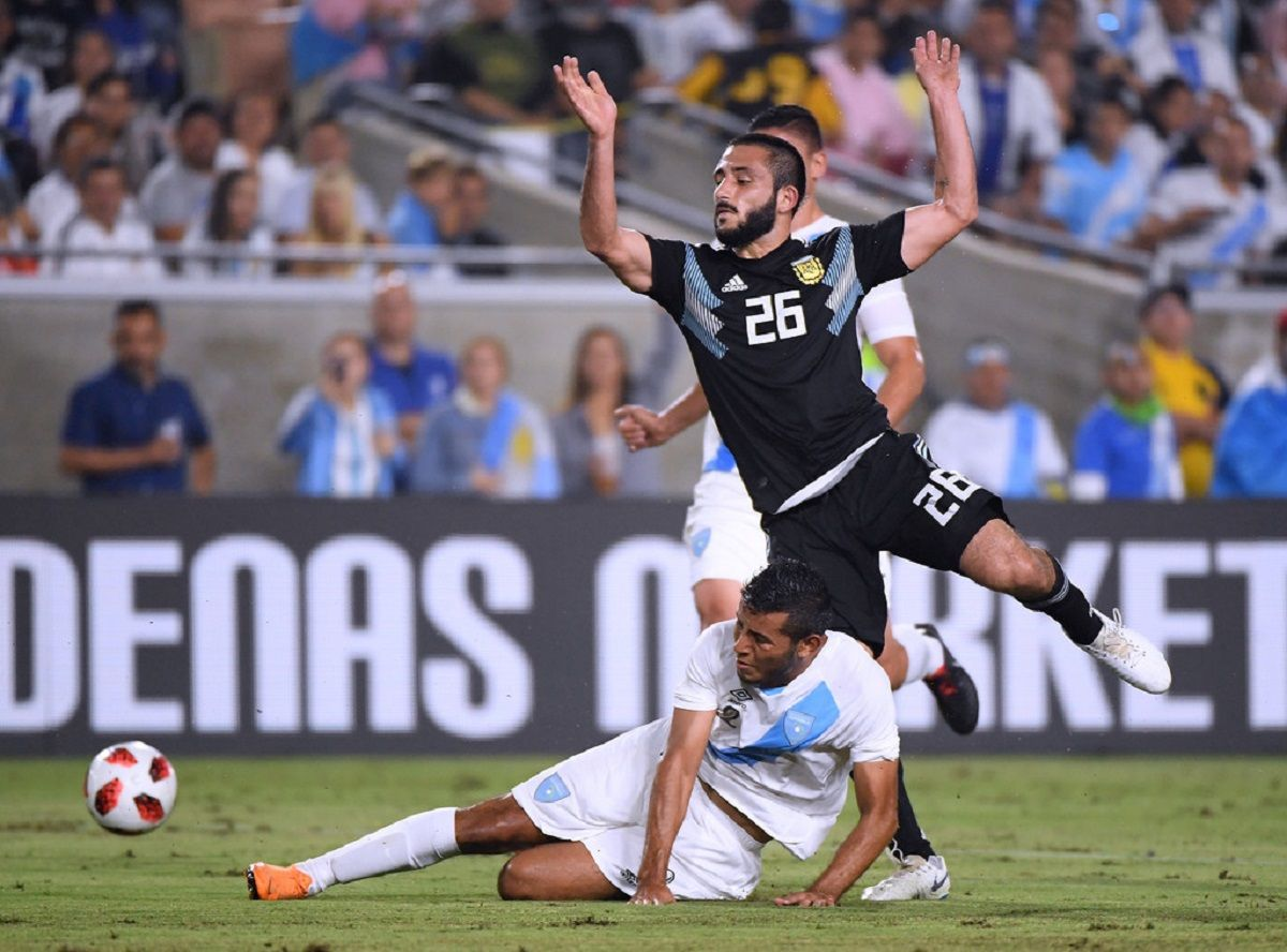 Matías Vargas tuvo contra Guatemala su debut en la Selección