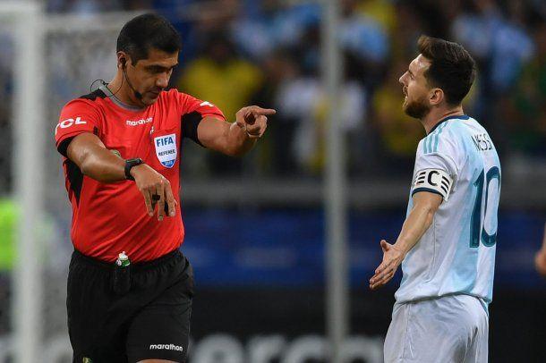 Roddy Zambrano fue duramente criticado por Lionel Messi