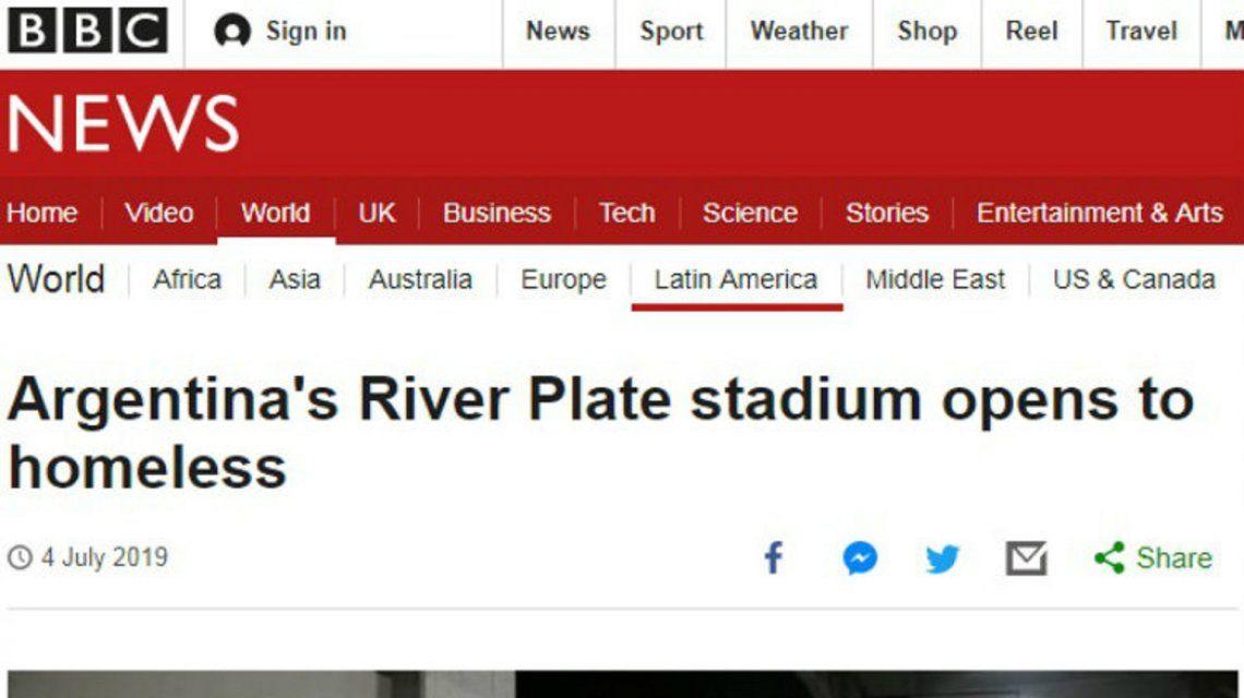 La BBC se hizo eco de la situación aberrante en la Ciudad de Buenos Aires