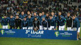 Tras el tercer puesto en la Copa América, Argentina volvió al top ten del ranking FIFA