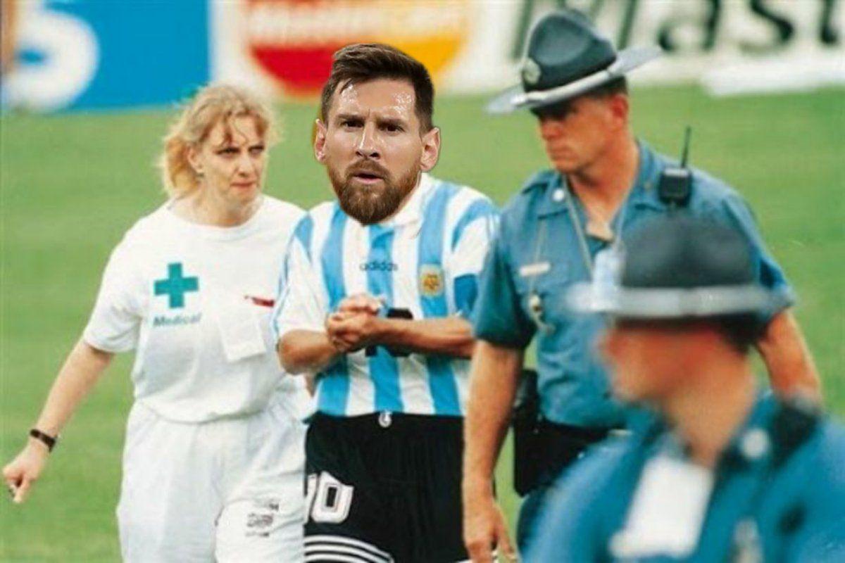 Messi declarando hizo acordar a Diego Maradona
