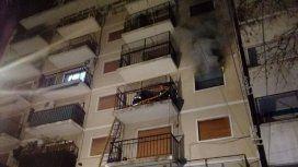 Villa del Parque: una mujer murió por un incendio en un edificio