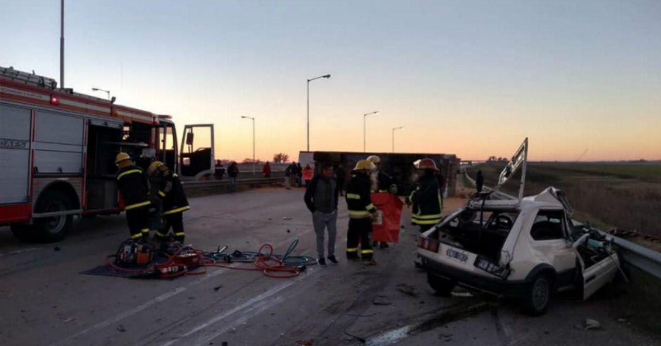 A contramano y a toda velocidad por la autopista: un hombre provocó una tragedia