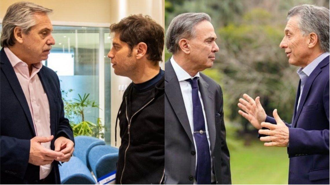 Alberto Fernández y Kicillof van a Mar del Plata mientras que Macri y Pichetto celebrarán el 9 de Julio en Tucumán