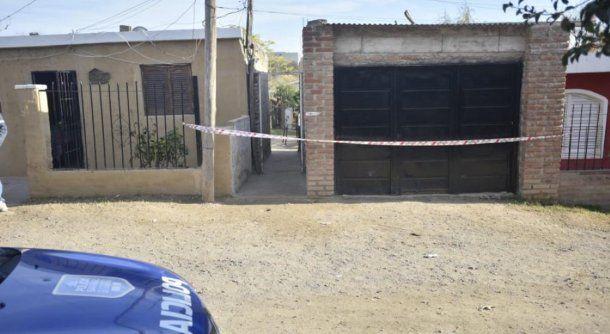 l pasillo desde donde habría disparado el femicida. Foto: La Voz