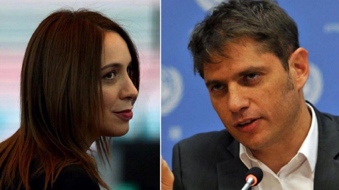 Lanzada de lleno en la campaña, Vidal atacó a Kicillof y la respuesta no tardó en llegar