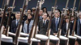 Mauricio Macri, Juliana Awada, Miguel Ángel Pichetto, Marcos Peña y Patricia Bullrich