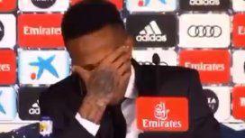 Insólito: el flamante refuerzo del Real Madrid se descompensó en su presentación