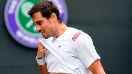 Se acabó el sueño de Pella en Wimbledon: cayó ante Bautista Agut en cuartos de final
