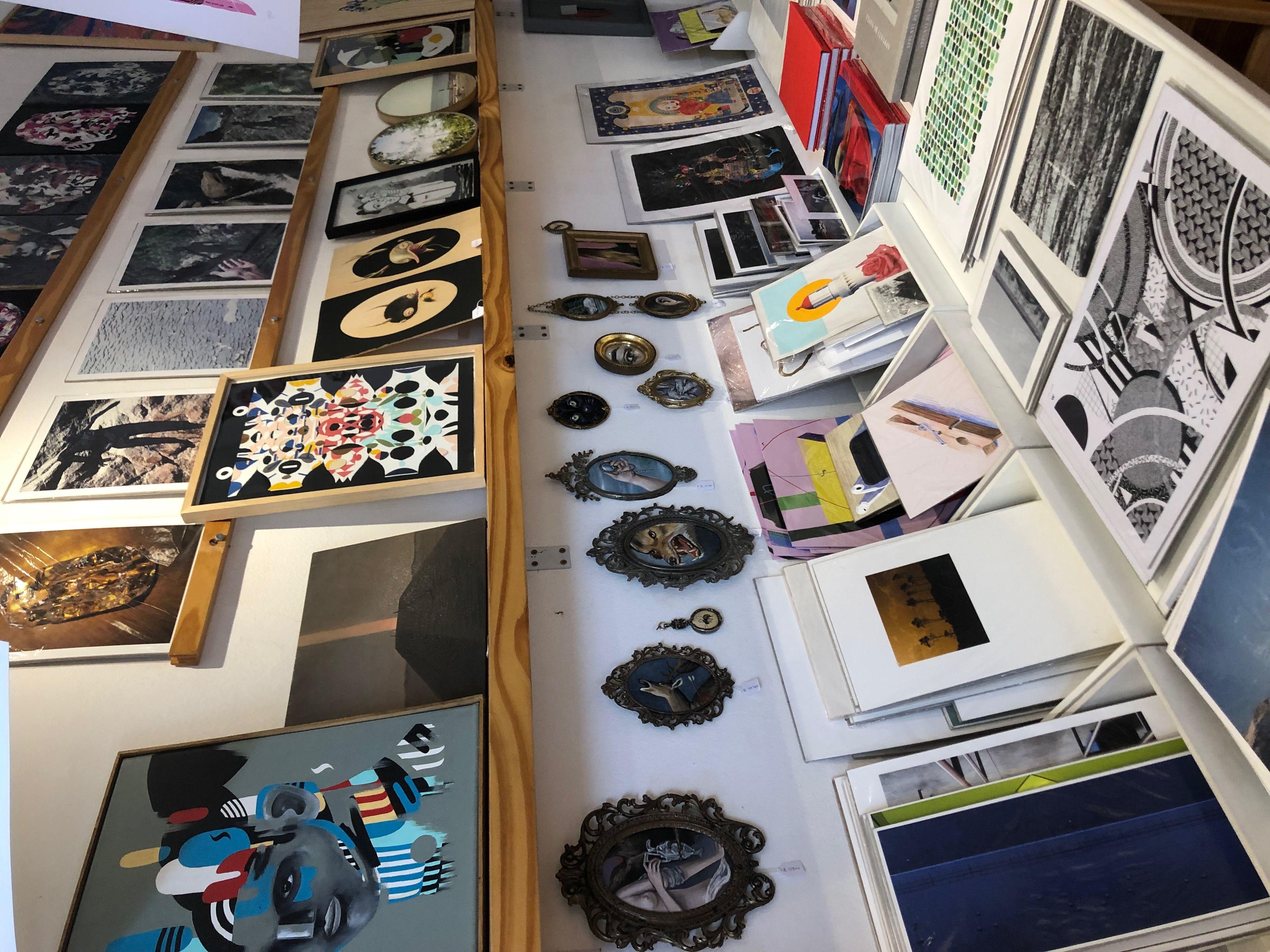 Tienda Quorum, la galería de arte que causa furor en San Telmo