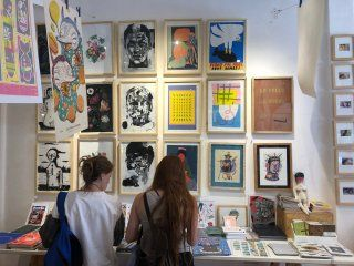 tienda quorum, la galeria de arte que causa furor en san telmo