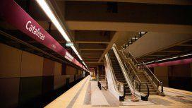Trabajadores de la línea E: Hay un compromiso firmado y Metrovías no lo ha cumplido