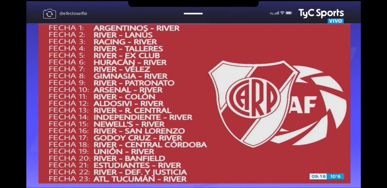 Ex Club: la chicana de River para Boca que salió al aire por TV y se viralizó