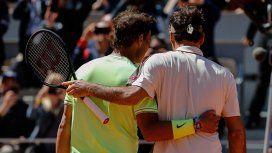 Nadal y Federer se verán nuevamente las caras en la semifinal de Wimbledon