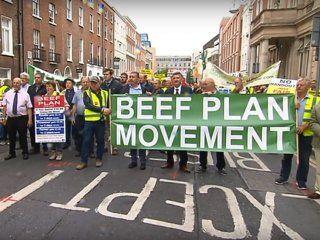 miles de ganaderos irlandeses marcharon contra el acuerdo entre union europea y mercosur