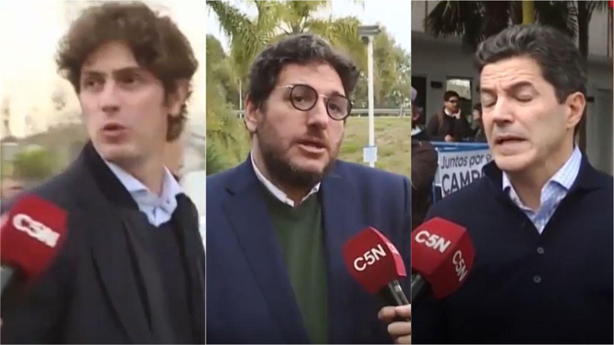 Hasta la puerta del cementerio: referentes macristas rechazaron la declaración de Aguad sobre Rico