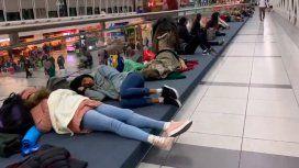 Vuelos demorados y cancelados en el aeropuerto de Ezeiza por la fuerte tormenta eléctrica