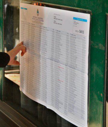 ¿Dónde voto? Consultá el padrón para las elecciones del 27 de octubre