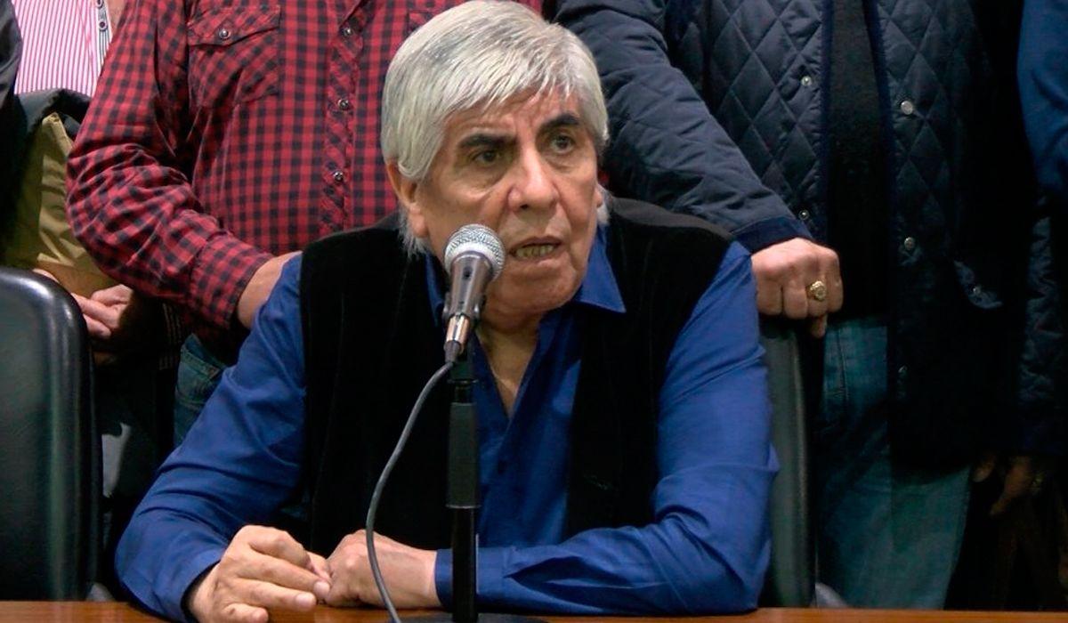 Hugo Moyano: Macri no se tiene que comparar con San Martín sino con el caballo