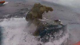 La impresionante persecución a un submarino narco en la costa de Estados Unidos
