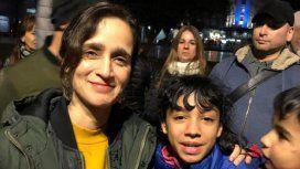 Julieta Venegas y un emotivo recital para gente en situación de calle en Plaza de Mayo