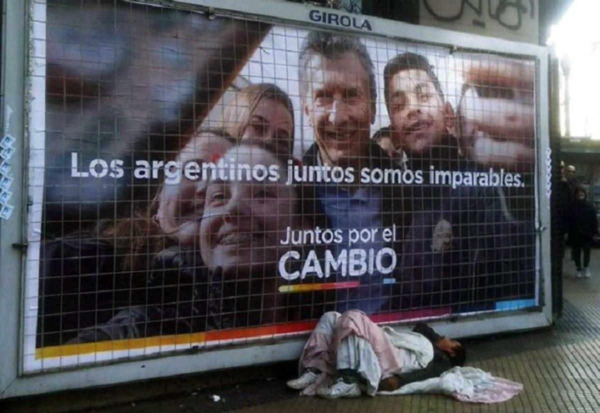 La postal de la Argentina que recuerda a la crisis más grande del capitalismo