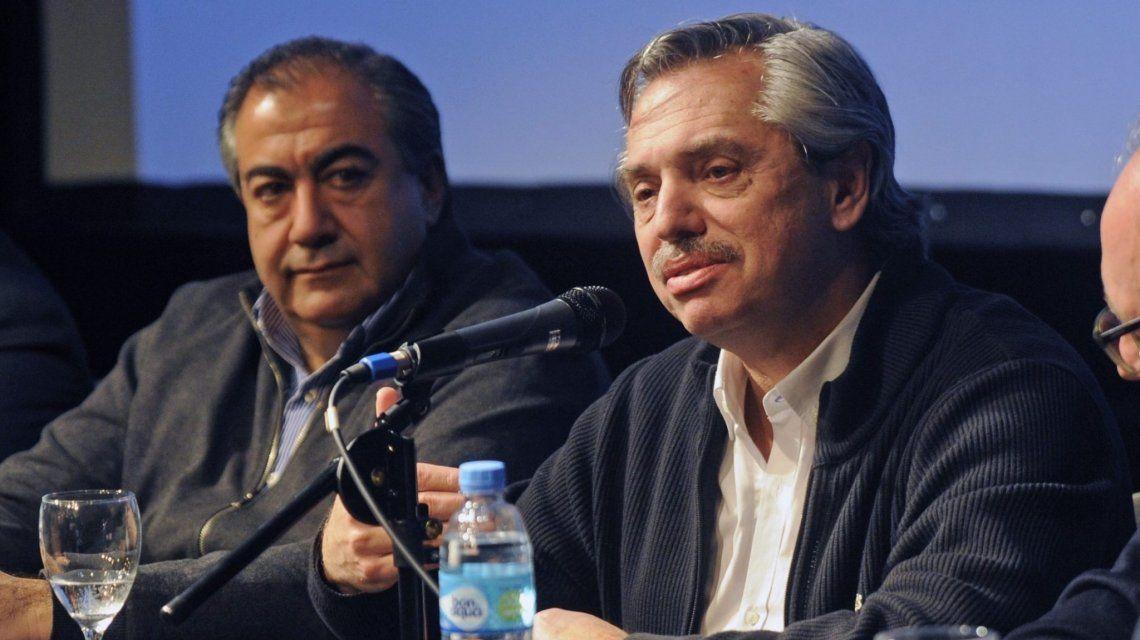 Héctor Daer y Alberto Fernández