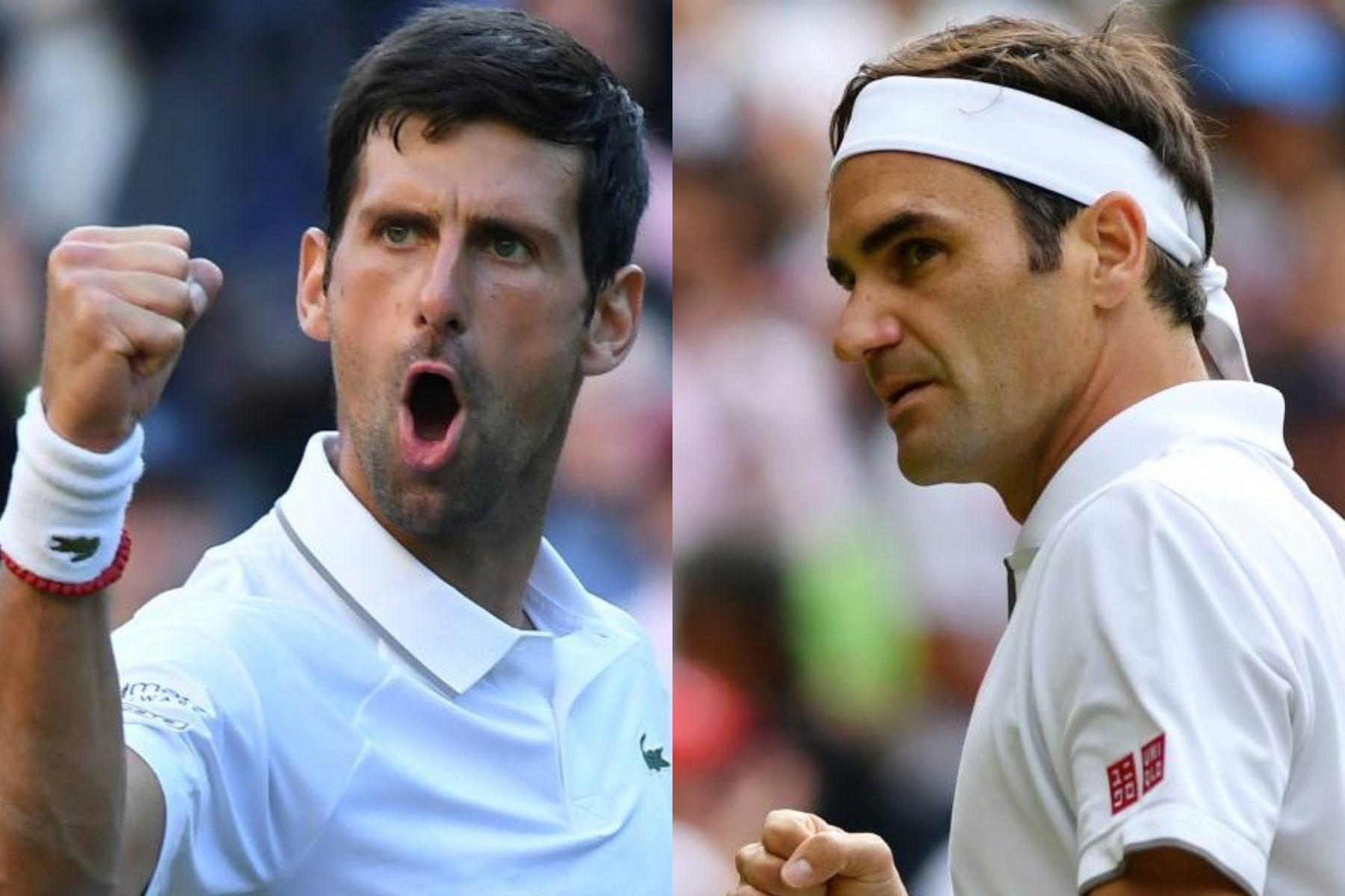 Djokovic y Federer definen el título en el quinto set