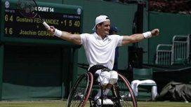 ¡Histórico! Un argentino se consagró campeón de Wimbledon en adaptado