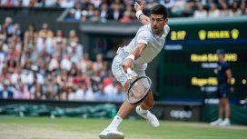 Novak Djokovic. Foto: @Wimbledon