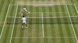 Djokovic y Federer se miden en la final. Foto: @Wimbledon