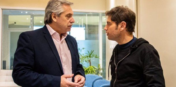 Alberto Fernández y Axel Kicillof