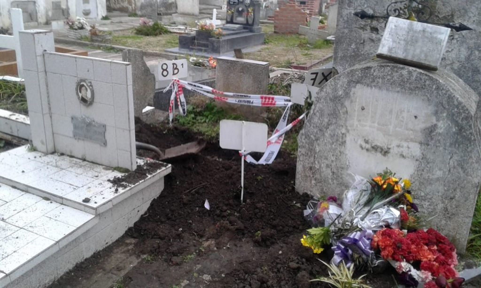 Robaron el cadáver de un bebé del cementerio de Miramar: es el tercero que sustraen en la zona