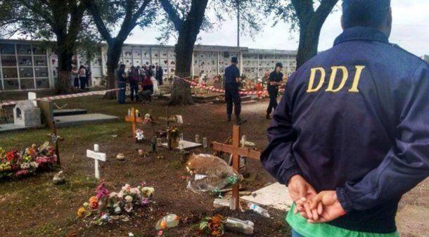 Cementerio de Otamendi. Foto: 0223.com.ar