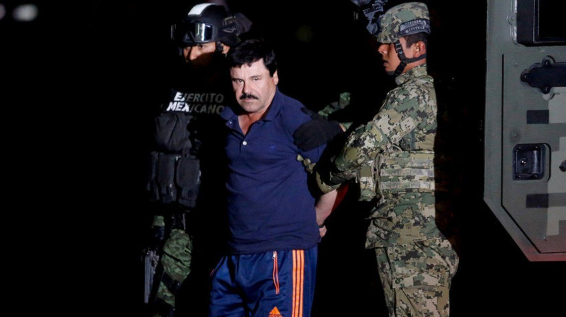 El Chapo Guzmán fue detenido 8 de enero de 2016 en México