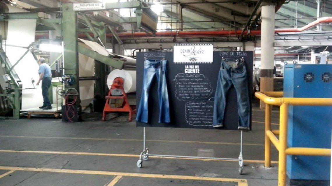 La empresa brasileña producía el denim para los jeans