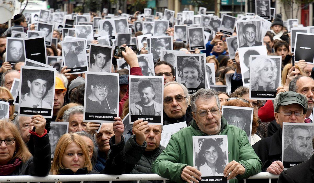 AMIA, 9:53 horas: así sonaron las sirenas en conmemoración al atentado de hace 25 años
