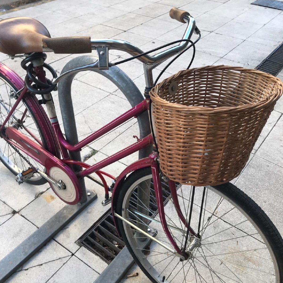 VIDEO: Así robaron una bicicleta a metros de una de las avenidas más transitadas de la Ciudad