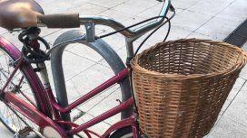 Así robaron una bicicleta a metros de una de las avenidas más transitadas de la Ciudad