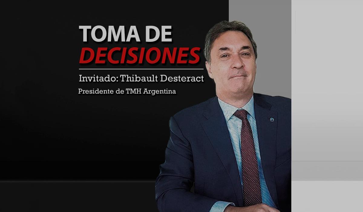 Thibault Desteract, de TMH: Argentina merece un transporte ferroviario eficiente
