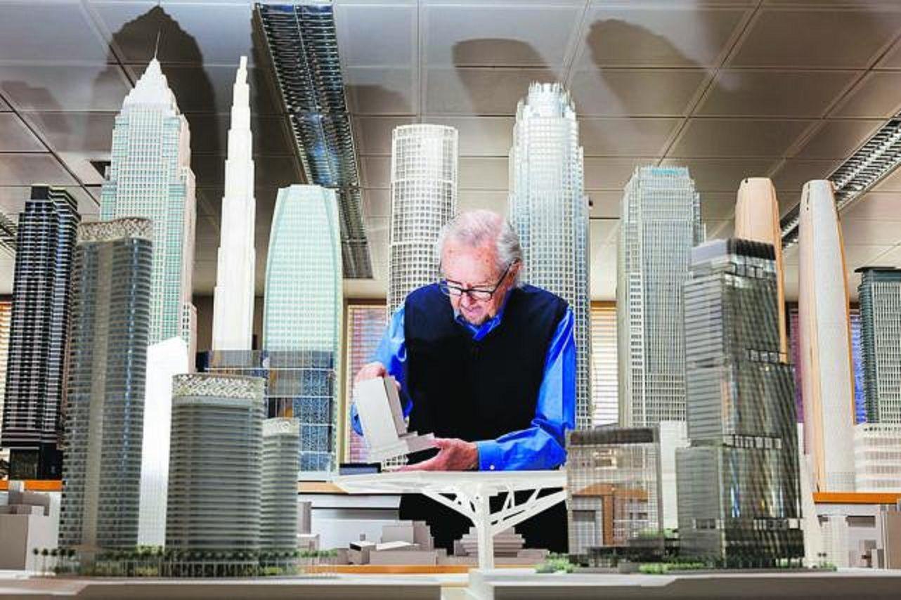Murió el arquitecto César Pelli
