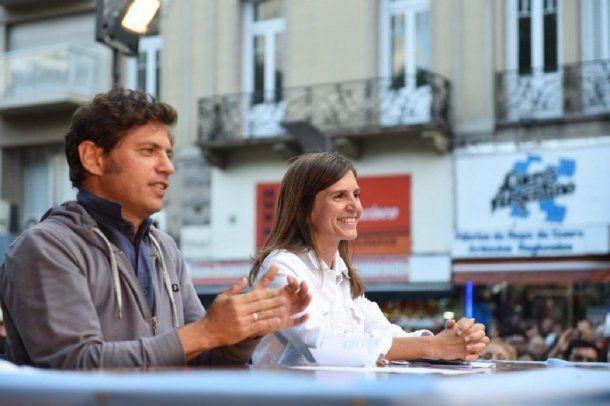 Axel Kicillof y Fernanda Raverta