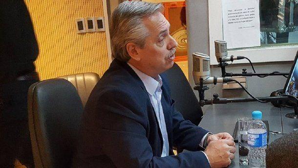 Alberto Fernández en Cadena 3