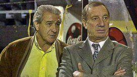 Carlos Pachamé y Carlos Salvador Bilardo