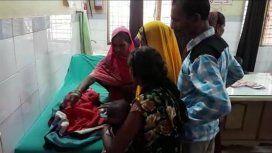 Conmoción en un pueblo de la India por el nacimiento de una nena con tres cabezas